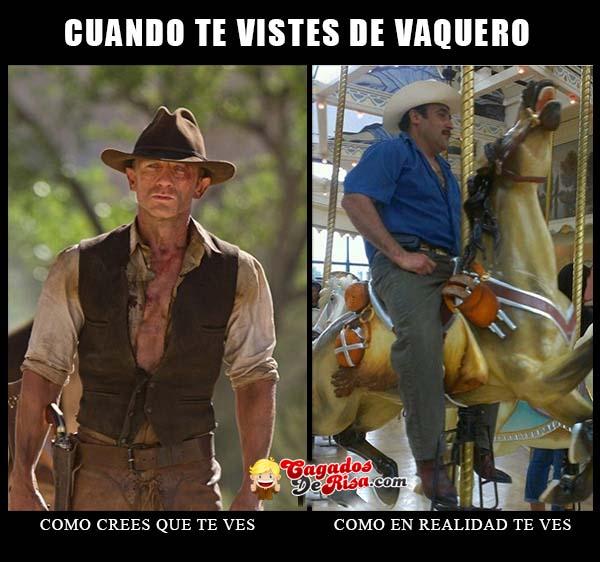 memes de vaqueros - espectativa