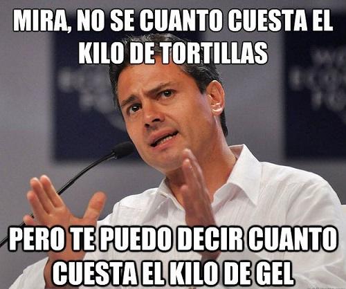memes de tortillas
