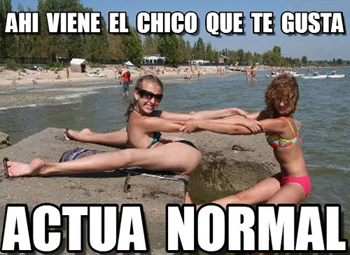 memes-de-actua-normal-trata-de-actuar-normal-ahi-viene