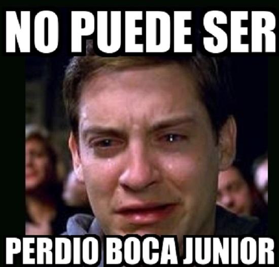 memes de boca juniors - peter parker