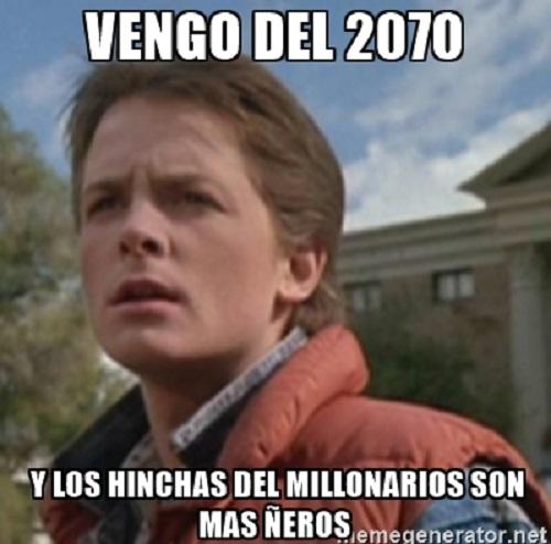 memes de millonarios - neros hinchas