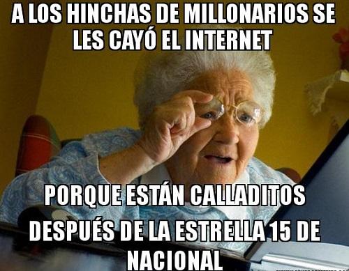 memes de millonarios - se les cayo el internet