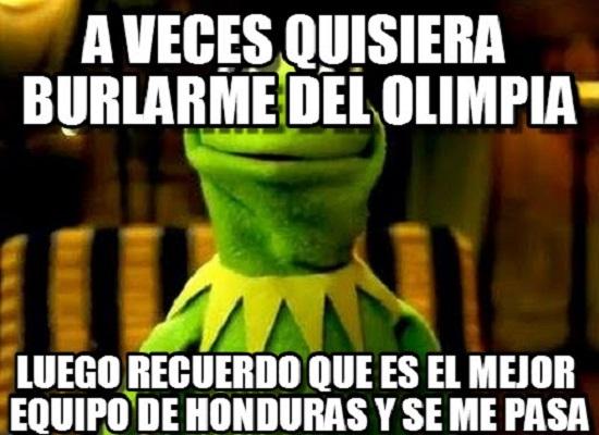 memes del olimpia - aveces