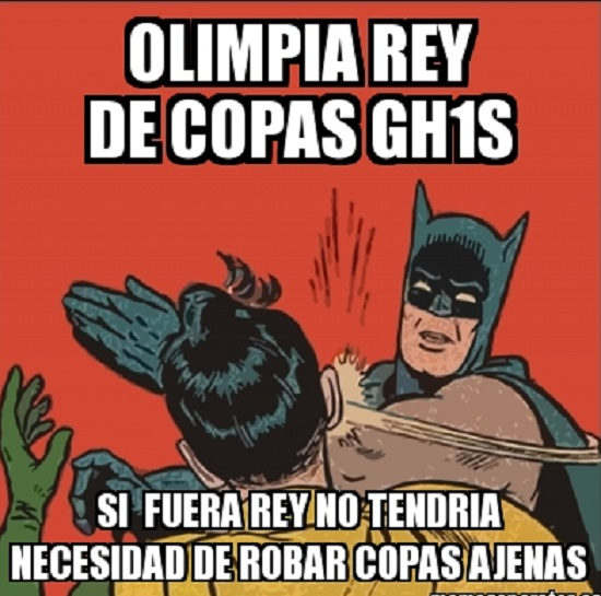 memes del olimpia - batman y robin