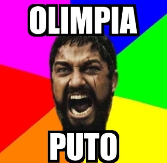 memes del olimpia - leonidas