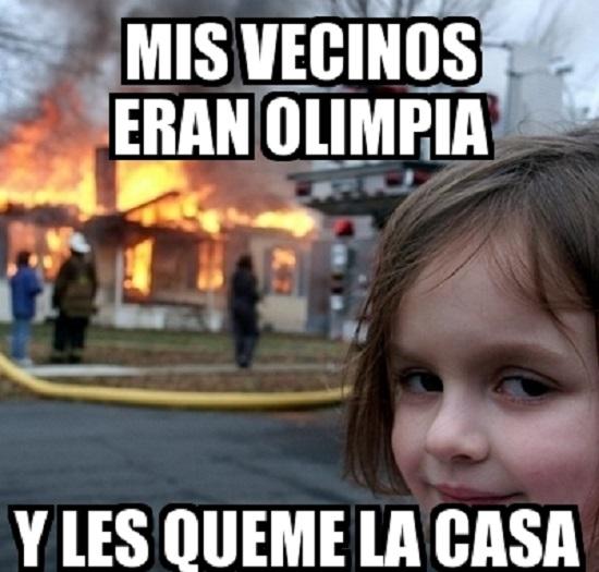 memes del olimpia - mis vecinos del olimpia