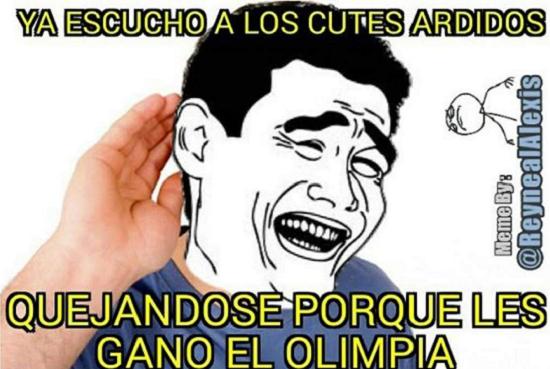 memes del olimpia - no los escucho