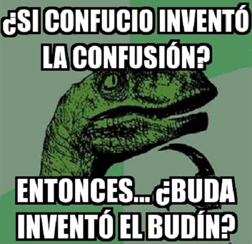 Memes de Filosoraptor - confusio
