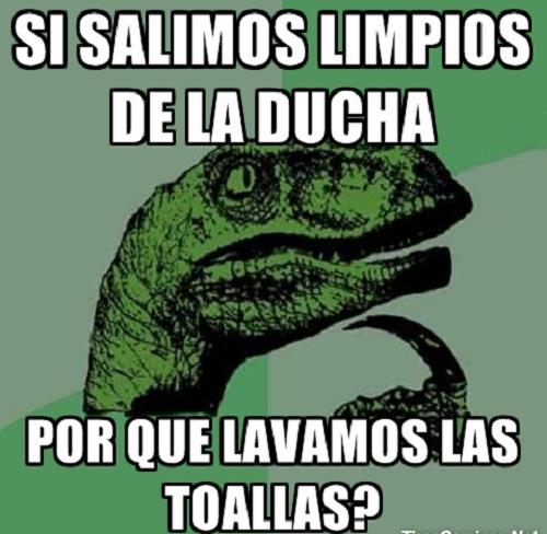 Memes de Filosoraptor - si salimos limpios
