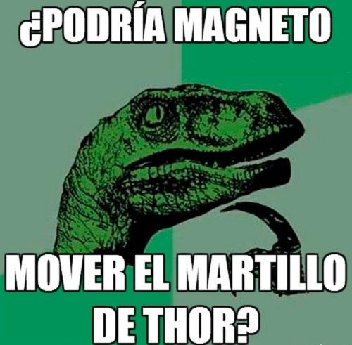Memes de Filosoraptor - x men