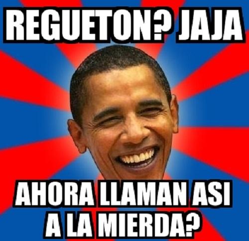 Memes de reguetoneros - obama