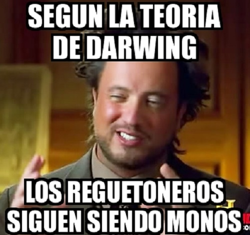 Memes de reguetoneros - teoria de egueton