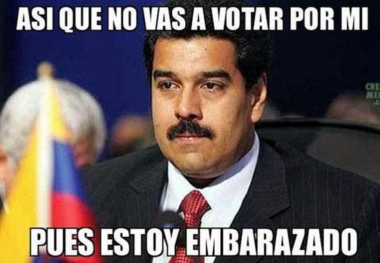 memes de maduro - si no votas por mi