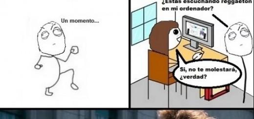 memes de reguetoneros - tira comica