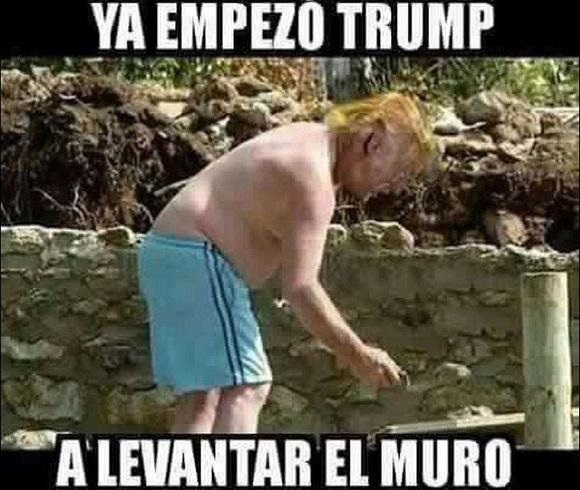 memes del muro - a levantar el muro