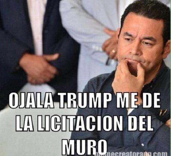 memes del muro - licitacion del muro